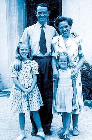 Donald Sinclair e família