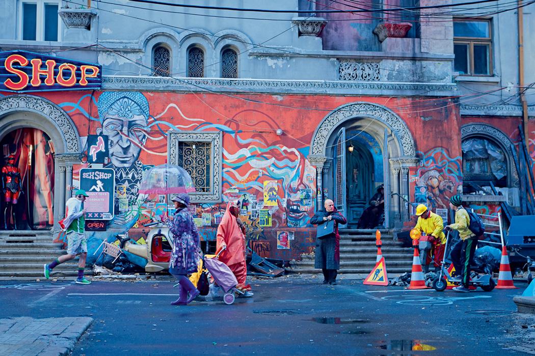 O grafite polêmico