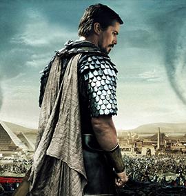 O filme que Christian Bale se inspirou ao compor as características de seu Moisés foi A Vida de Brian