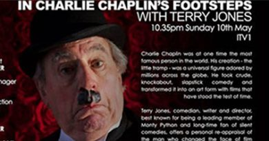 Terry Jones charlie chaplin