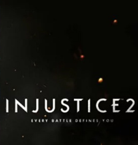 Logo do game Injustice 2