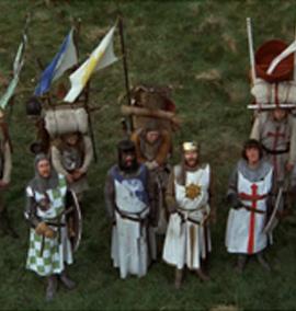 Monty Python e a lança que perfurou Jesus