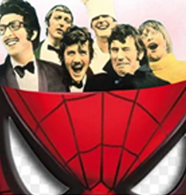 Monty Python influencia Homem-Aranha