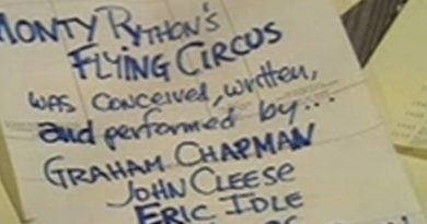Flying Circus: Os Diferentes Créditos Finais da Série