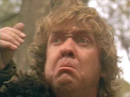 O anão que representa Graham Chapman
