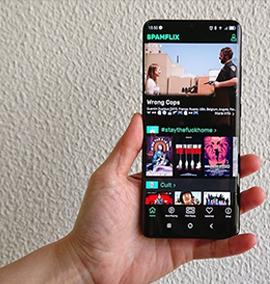 Spamflix: assistindo filmes cults no celular