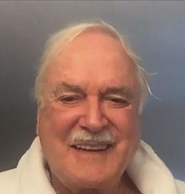 John Cleese fez uma live nas redes sociais