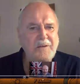 John Cleese e sua aula online