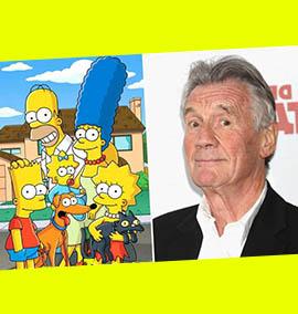 Michael Palin e sua participação nos Simpsons
